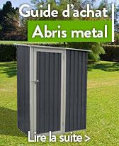 abri de jardin en metal cabane de