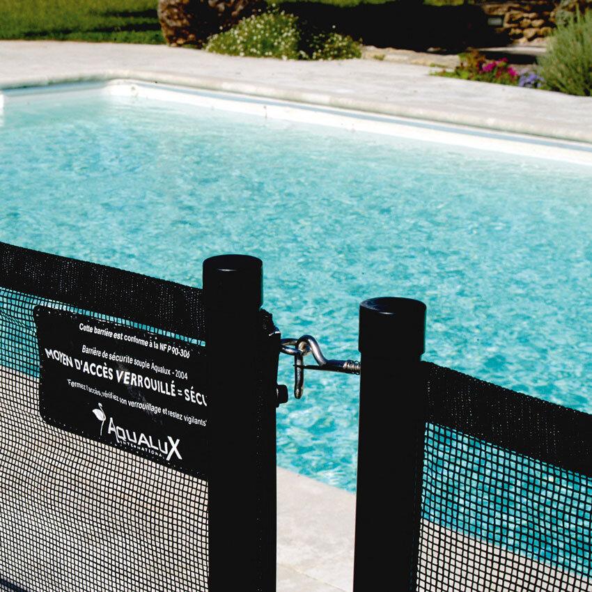 barriere de securite souple pour piscine aqualux 3 20ml