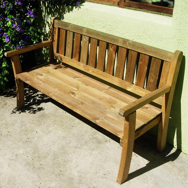 banc de jardin en bois jura
