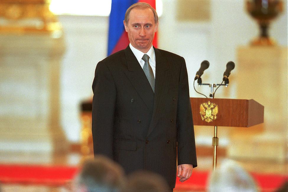 Владимир Путин, 1999год. Фото: Дмитрий Азаров/ Коммерсантъ