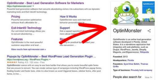 google mon entreprise est un facteur de classement de référencement mobile
