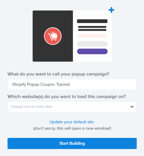 how to put a pop up on shopify