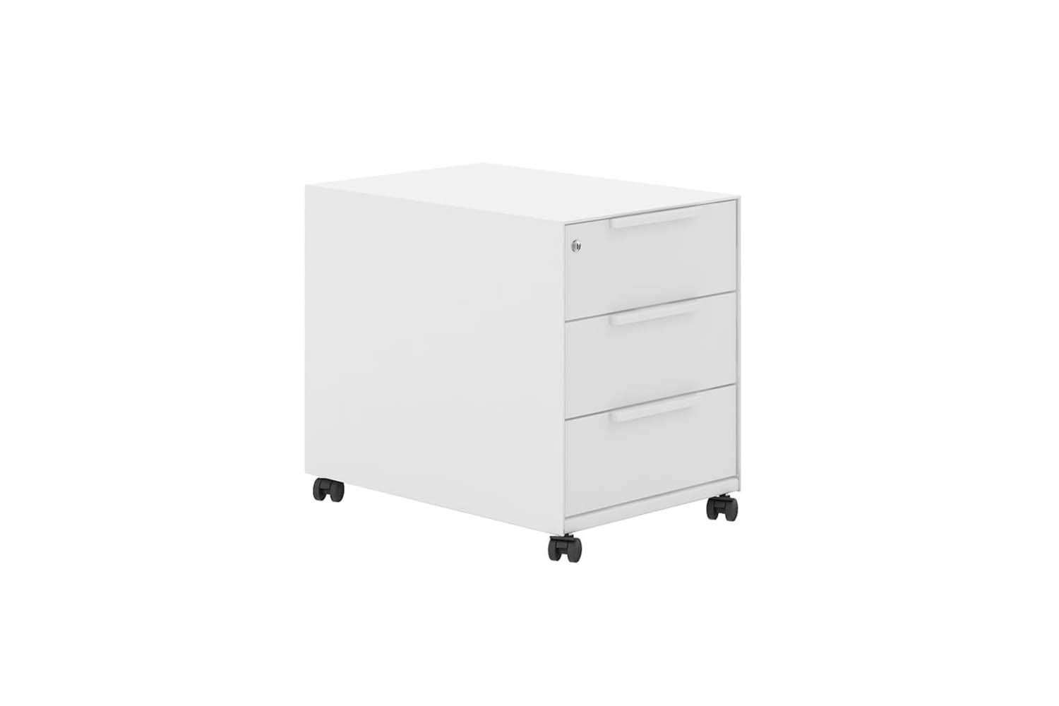 10 Easy Pieces Modern Metal File Cabinets On Wheels The Organized Home