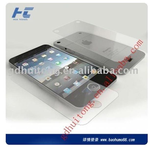 Еще один макет iPhone 5 от китайского производителя аксессуаров