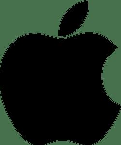 Черный логотип Apple
