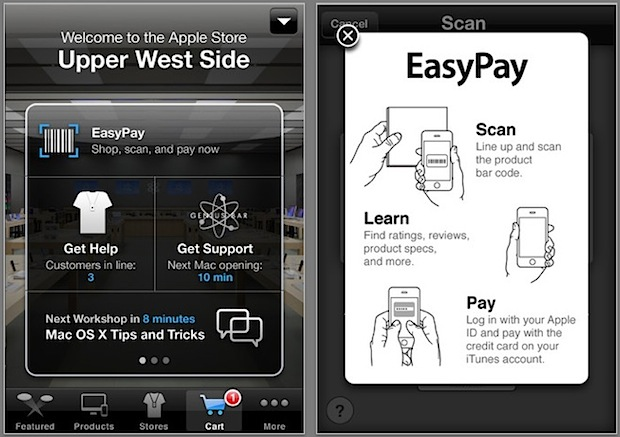 Apple Store EasyPay