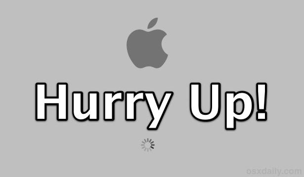 Ускорьте загрузку Mac