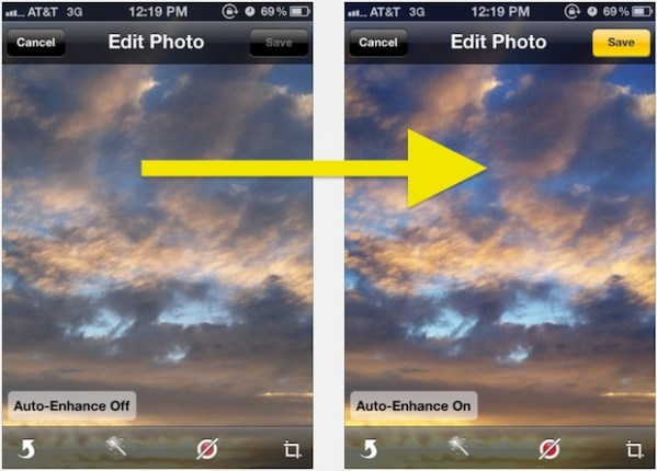 How to Make iPhone Photos Look Better By Using Auto-Enhance