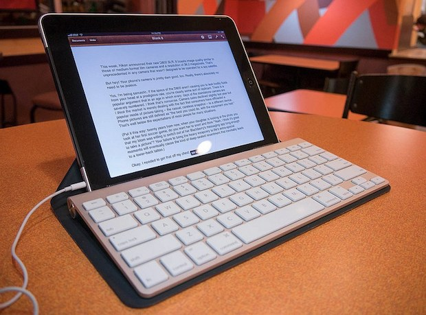 iPad keyboard navigation commands
