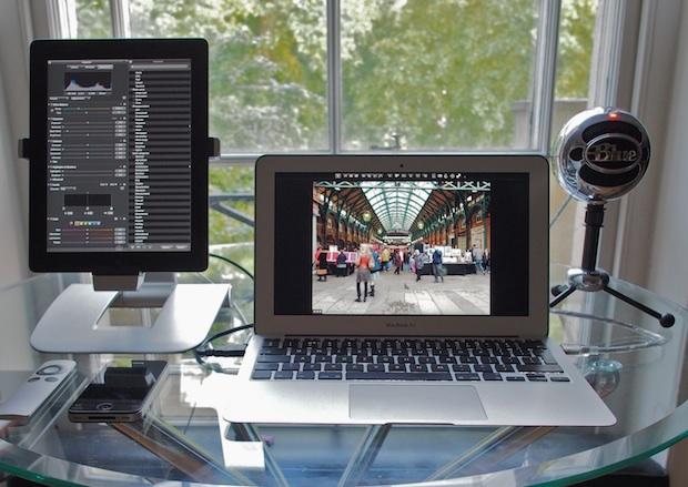 MacBook Air с iPad с Air Display в качестве внешнего дисплея