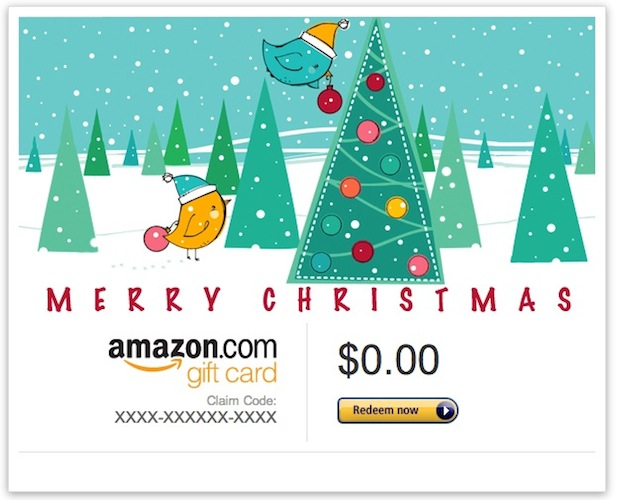 Подарочная карта электронной почты Amazon