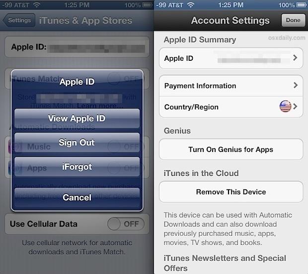 Измените привязку Apple ID к стране для iTunes и App Store