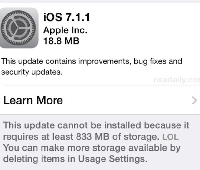 Ios  Update For Iphone Ipad And Ipod Touch