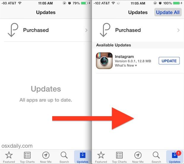Исправлена ошибка, из-за которой обновления приложений не отображались в App Store