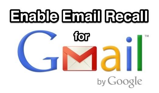 Включите опцию отзыва электронной почты в Gmail, чтобы отменить отправленные электронные письма