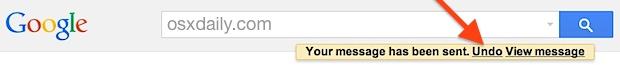 Отменить отправку в Gmail позволяет отозвать отправленное сообщение электронной почты