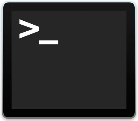 Terminal in MacOS X
