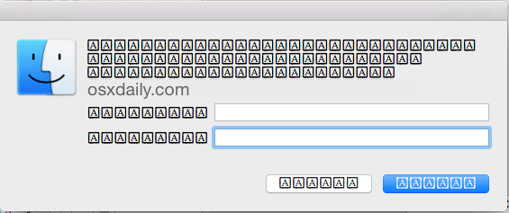 Шрифты отображаются ошибочно в Mac OS X