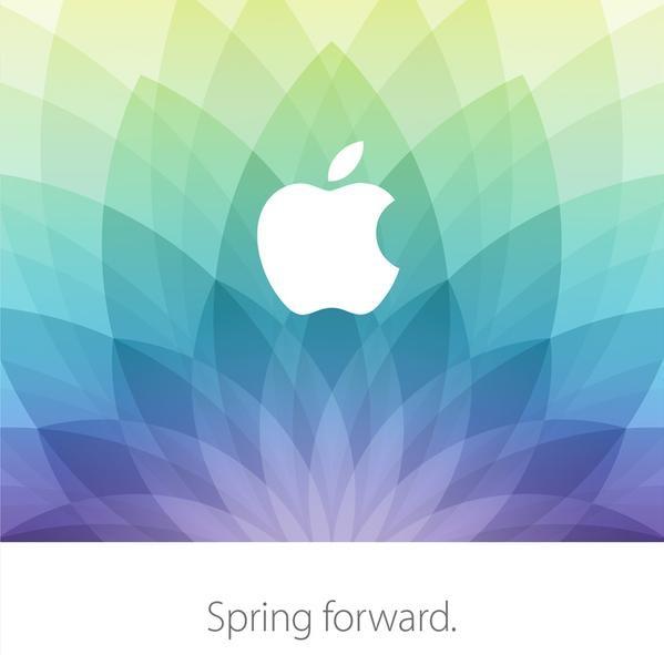 Весеннее приглашение на мероприятие Apple