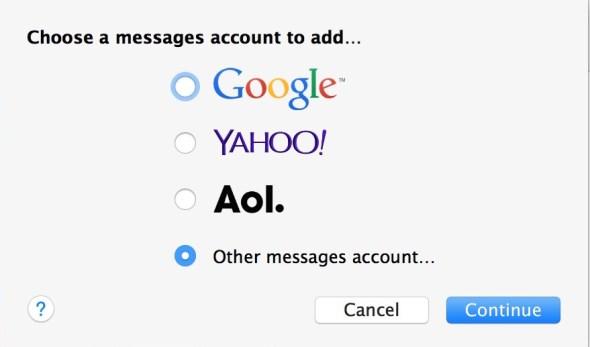 Добавить чат Facebook в приложение Mac Сообщения