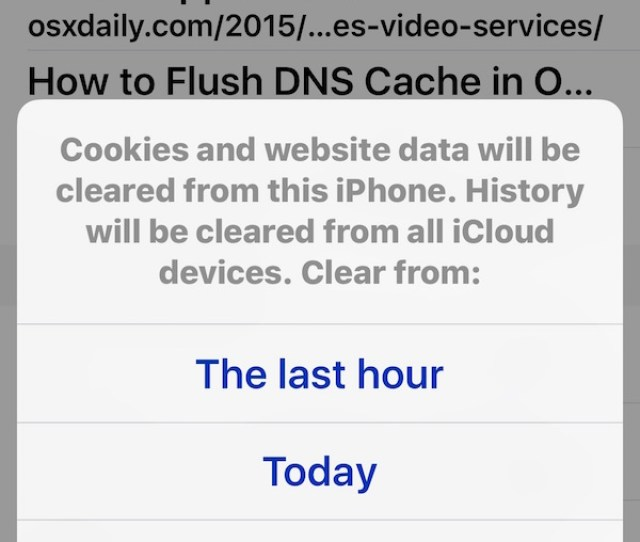 How To Delete Recent Safari Search Web Browsing History On Iphone Ipad