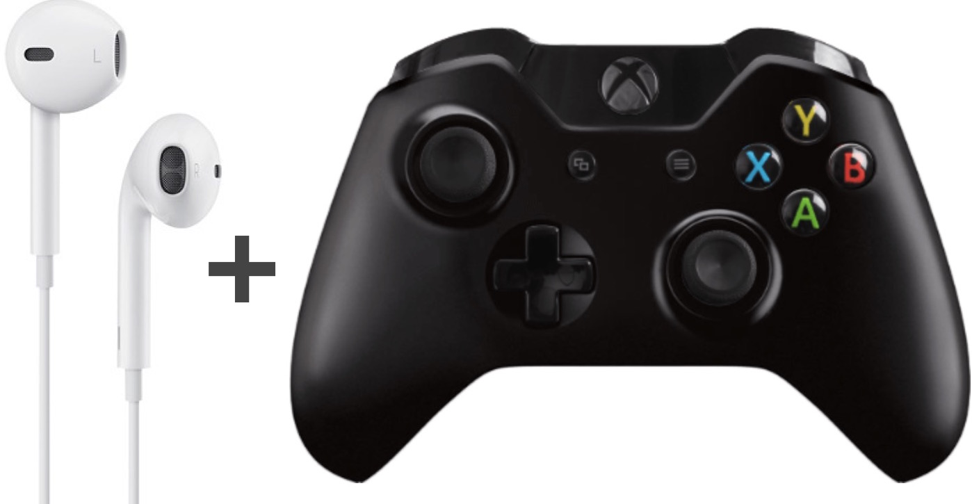 Use Apple Earbud Headphones With Xbox One Controller