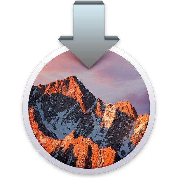 Установите MacOS Sierra