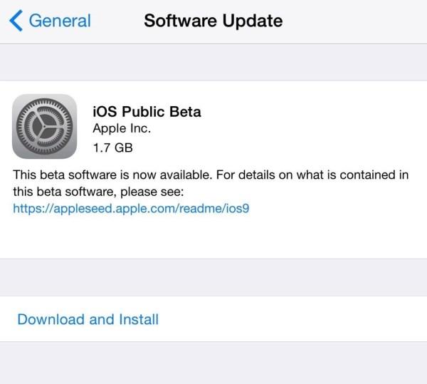 Установите общедоступную бета-версию iOS 10