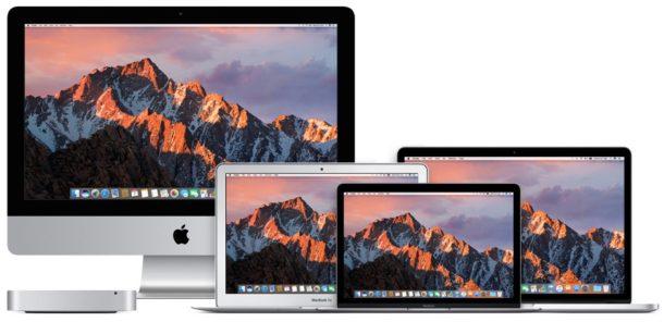 macOS Sierra доступна для загрузки сейчас