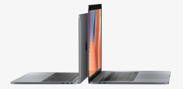 New MacBook Pro 13 and 15 inch model