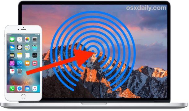 Как сделать AirDrop с iPhone на Mac