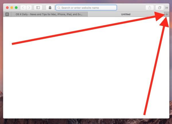 Re-open closed Safari tabs on Mac