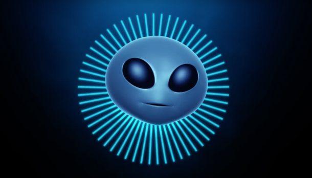 Alien Animoji iPhone X, реклама
