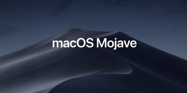 Доступно новое дополнительное обновление MacOS Mojave 10.14.6