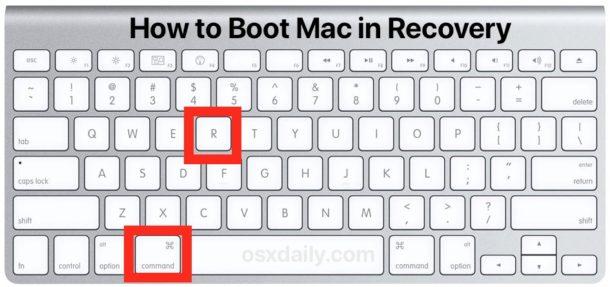 Как загрузить Mac в режиме восстановления