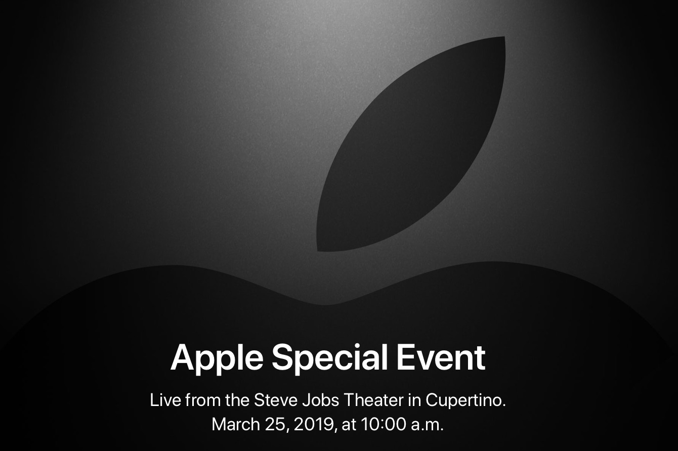 Tuesday 10 september · 2018:. Apple Event Set For March 25 Osxdaily