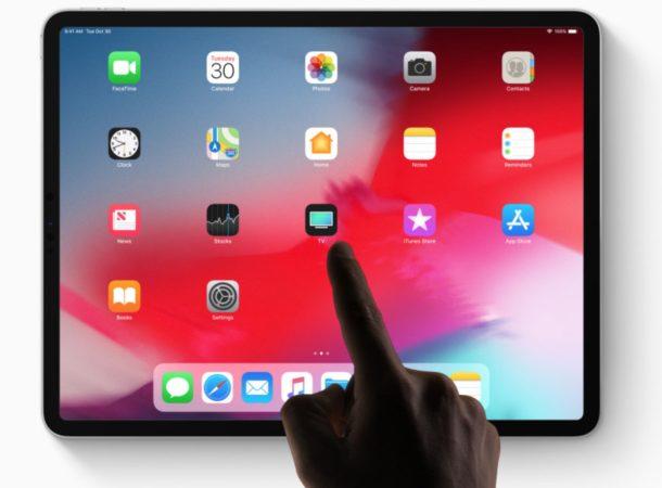 Как выключить iPad Pro
