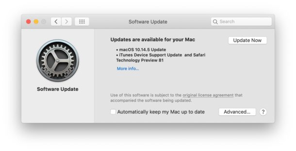 MacOS Mojave 10 14 5 Update Available for Download | All Tech Feeds