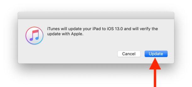 Выберите обновление до iOS 13 beta или iPadOS 13 beta