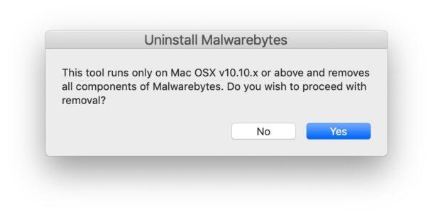 Uninstall Malwarebytes from Mac