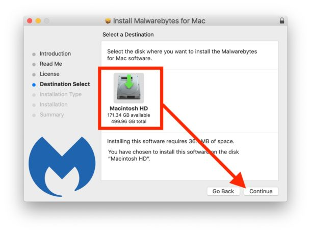 Installing Malwarebytes on Mac