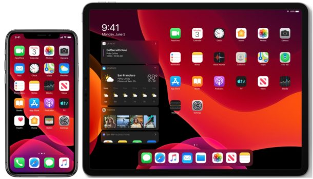 iOS 13 и iPadOS 13