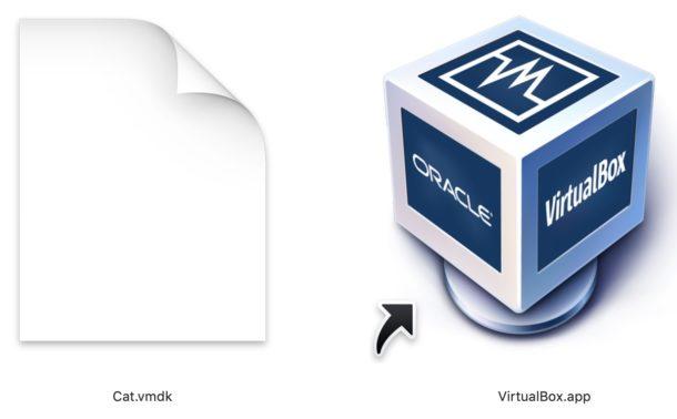 How to open VMDK in VirtualBox
