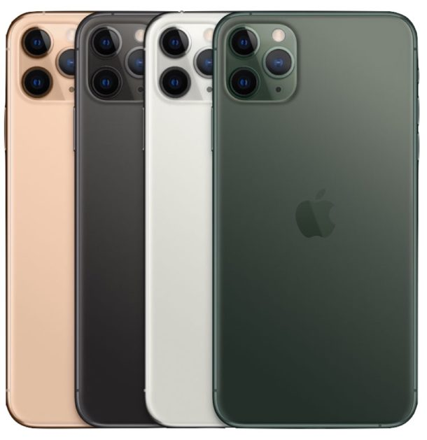 iPhone 11 Pro Max colors