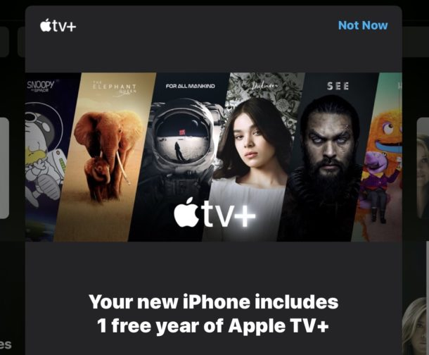 Get a free year of Apple TV Plus subscription