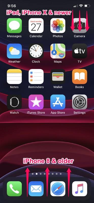 Как использовать ярлыки камеры из Центра управления на iPhone и iPad