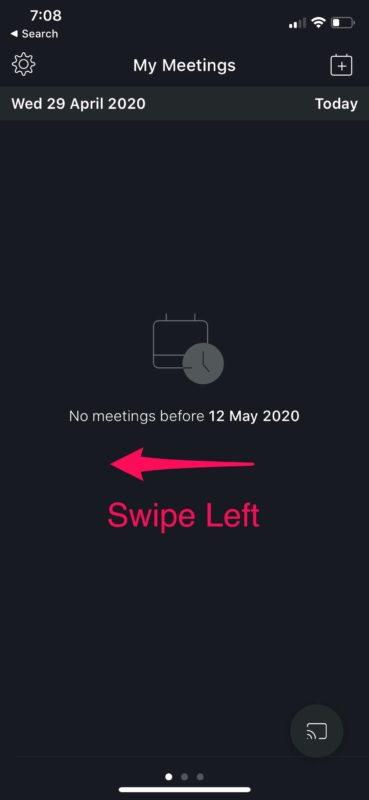 Как использовать Webex Meetings для видеоконференций на iPhone и iPad
