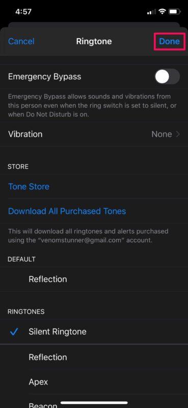 Как отключить звук контакта на iPhone, чтобы отключить звук для звонков, сообщений и уведомлений от них