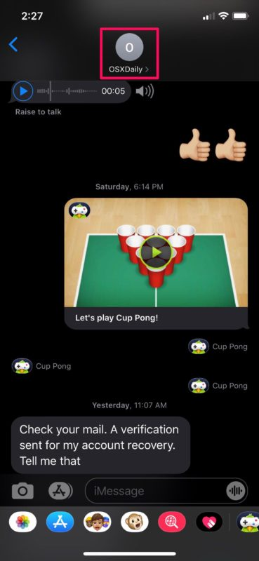 Cómo silenciar un contacto en el iPhone para silenciar llamadas, mensajes y notificaciones de ellos