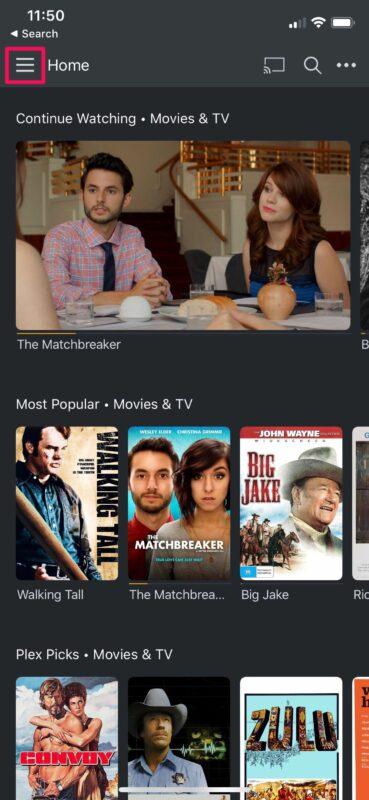 Как смотреть бесплатные фильмы на iPhone и iPad с Plex